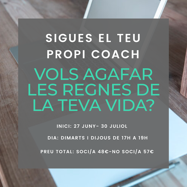 Curs Centre Cívic Sant Joan – Sigues el teu propi coach