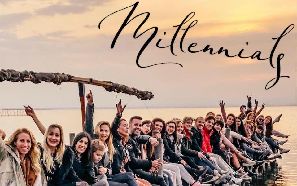 Enamorada de ser Millennial